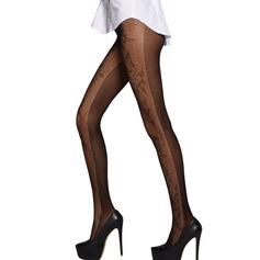 Jacquard Nylon Chinlon Pantyhose
