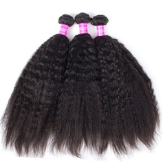 4A Nicht remy Verworrene gerade Menschliches Haar Geflecht aus Menschenhaar (Einzelstück verkauft) 100g