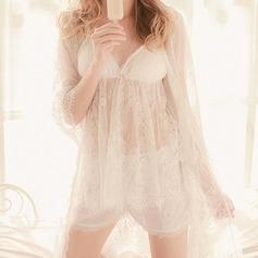 Lace/Polyester Bridal/Feminine Sleepwear Sets