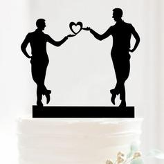 Figurin Akryl Tårtdekoration