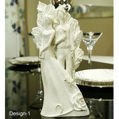 Attractive Noiva e Noivo Resina Ornamento (Vendido em uma única peça)