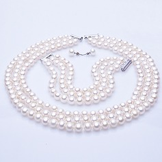 "Luxurious Pearl/""AA-"" Pearl Ladies' Jewelry Sets"