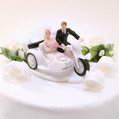 Vehicle Resin Wedding Cake Topper
