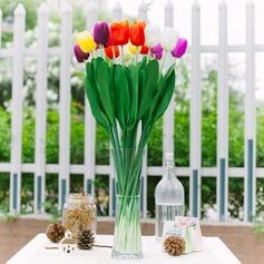 Colorido PVC Flores da Tabela do Casamento
