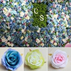 Hermoso Pretty Seda Flores artificiales (Conjunto de 50)