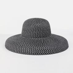 Dames Glamour/Simple Polyester Chapeaux de plage / soleil