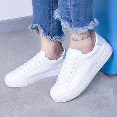 Frauen Kunstleder mit Zuschnüren Sneaker & Sport (247147908)