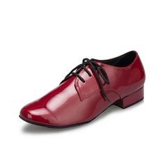 Мужская кожа На плокой подошве Латино Бальные танцы Практика Обувь для Персонала Обувь для танцев