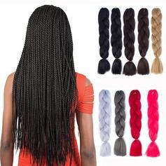syntetiska hår flätor (Säljs i ett enda stycke) 100g