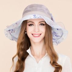 Señoras' Hermoso Seda Disquete Sombrero
