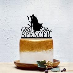 Personalizzato Sposa e Sposo/Dolce Amore Acrilico Decorazioni per torte