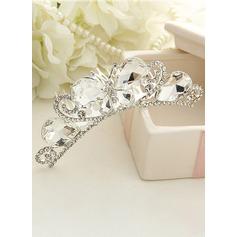 Diamantes de imitación venda de la flor