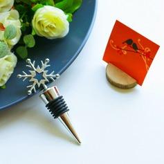 Non personalisable Style Classique En forme de flocon de neige Métal Ouvre-bouteilles (Vendu dans une seule pièce)