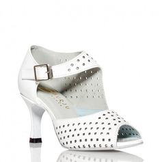 Femmes Similicuir Talons Sandales Escarpins Latin Chaussures de danse