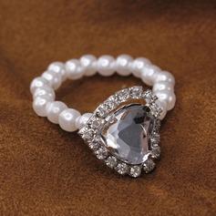Современный Стразы кольца для салфеток