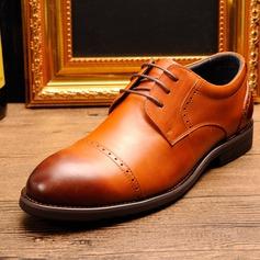 Men's Cap Toes Lace-up Dress Shoes Men's Oxfords