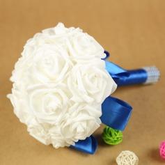 Élégante Rond Mousse Bouquets de mariée -
