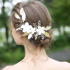 Senhoras Bonito Cristal/Strass/Liga/Falso pérola Grampos de cabelo com Strass/Cristal (Vendido em uma única peça)