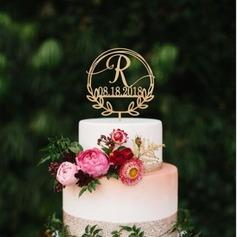 Personalizado Grinalda/Rústico Acrílico/Madeira Decorações de bolos