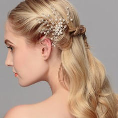 Maravilloso Crystal/La perla de faux Horquillas