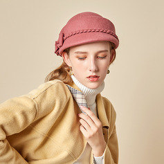 Señoras' Hermoso/Simple/Pretty Mezcla de lana con Bowknot Boina Sombrero