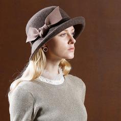 Ladies' Fashion/Elegant/Simple Wool Floppy Hat