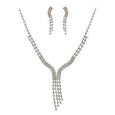 Lindo Liga com Cristal Senhoras Conjuntos de jóias