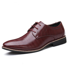 Men's Microfiber Leather Men's Oxfords