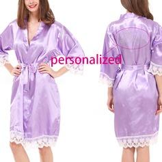 полиэстер Свадебная/женственный/Мода пижама