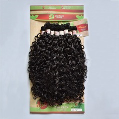 Curly Synthetic Hair Human Hair Weave 8pcs 300g (235145889)