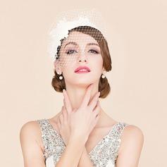 Dames Magnifique Fil net Chapeaux de type fascinator (196186981)