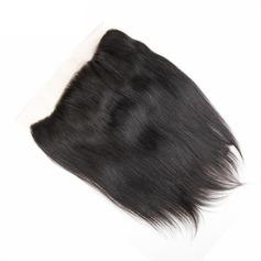 """13""""*4"""" 5A Tout droit les cheveux humains Fermeture (Vendu en une seule pièce)"""