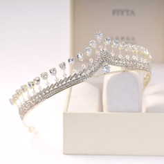 Glamourous Rhinestone/Alloy/Zircon Tiaras (Sold in single piece) (042207511)