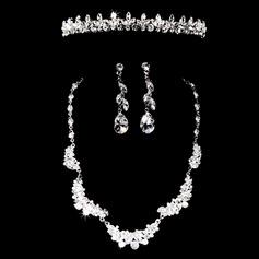 élégant Assortiment avec Strass Femmes Ensembles de bijoux