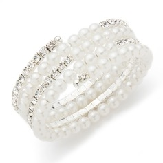 Exquis Pearl/Strass Dames Bracelets