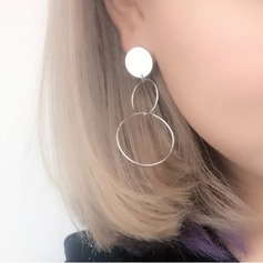Unik koppar Kvinnor Mode örhängen