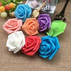 Bonito/Rose forma Bonito Espuma/PE Flores Artificiais (conjunto de 100)