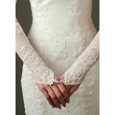 Tyll/Satäng Elbow Längd Handskar Bridal