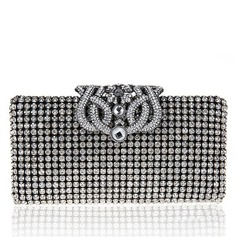 Glänzende Kristall / Strass/Polyester Handtaschen