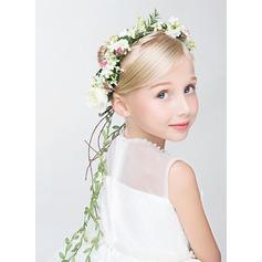 Kunstzijde met Bloem bloem hoofdband