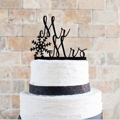 Acrílico Decorações de bolos