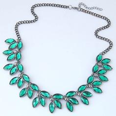 Mode Legering Resin Kvinnor Mode Halsband (Säljs i ett enda stycke)