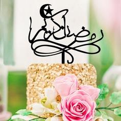 Religiösa/Klassisk stil Akryl Tårtdekoration (Säljs i ett enda stycke)