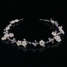 Ladies Glamourous Alloy/Imitation Pearls Headbands (042122752)