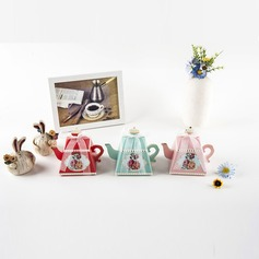 Creative/Magic/Lovely Card Paper Favor Boxes With Ribbons (Set of 12)