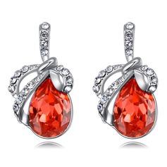 Mode Legering/Kristall med Kristall örhängen