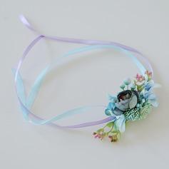 Flores Artificiales Ramillete de muñeca (vendido en una sola pieza) -