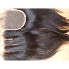 """4""""*4"""" 4A Nicht remy Gerade Menschliches Haar Bedeckung (Einzelstück verkauft) 100g"""