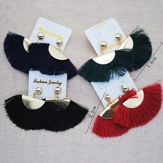 Stylish Iron With Tassels Women's Fashion Earrings (Sold in a single piece)