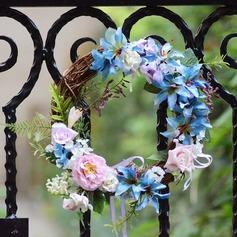 Rattan Straw Pretty Headdress Flower Wedding Decorations